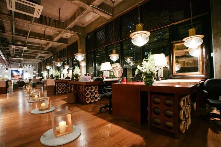 上海现代感的老场坊博览馆室内实景图 (4)