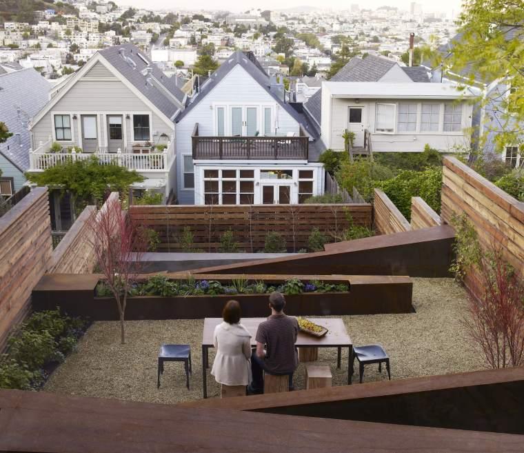 美国Eislund锈钢板花园