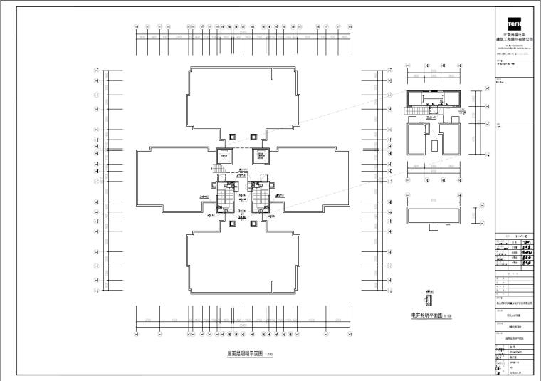 【佛山】时代水岸住宅项目全套电气图纸_8