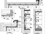 【广东】现代奢华风格别墅样板间设计施工图(附效果图+物料表)