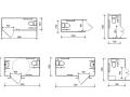 多场所卫生间设计规范(含无障碍卫生间)CAD图集