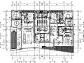 [深圳]现代风格四居室样板房施工图+效果图(知名设计师作品)