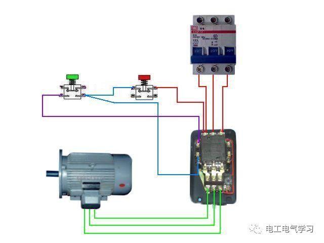 【电工必备】开关照明电机断路器接线图大全非常值得收藏!_65