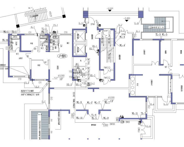 28层商住楼给排水消防全套施工图_2