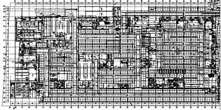 2018宁夏大型商业综合体工程电气施工图