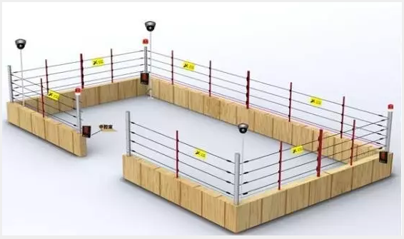 电子围栏系统安装施工流程(图解)