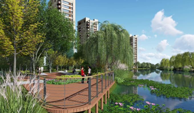 """[上海]""""海派文化""""加州花园生态别墅景观设计方案(2017最新)"""