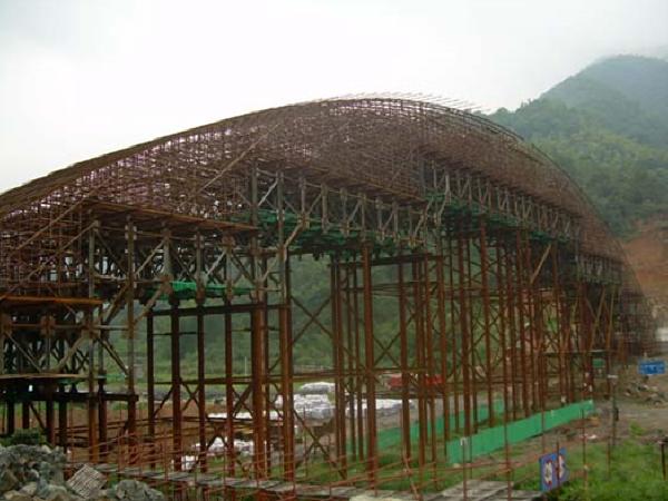 任务14拱桥施工(有支架、无支架施工)