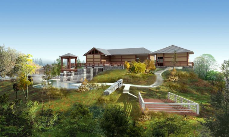 贵州某温泉度假山庄修建性详细规划方案设计