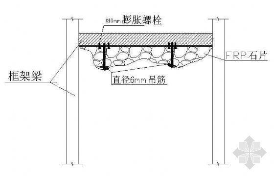 FRP假山吊顶结构图-2