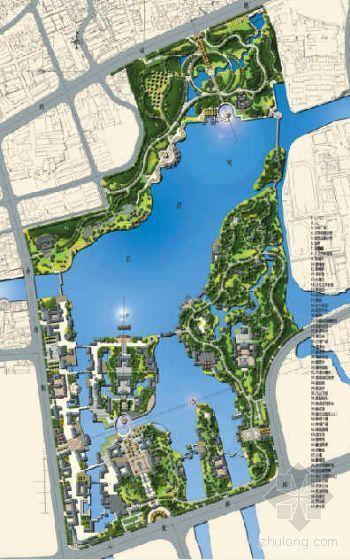 浙江温州水上公园景观设计方案