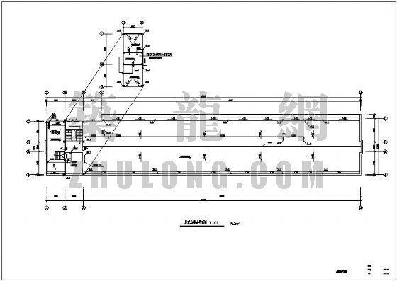 某综合楼给排水设计图
