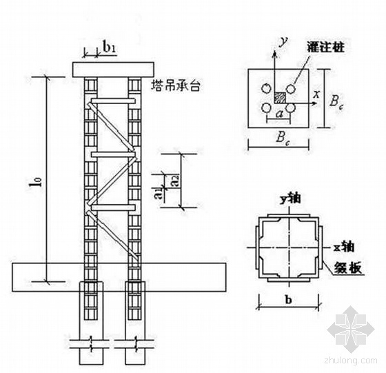 绍兴某大学教学楼塔吊工程施工方案(QTZ63C)