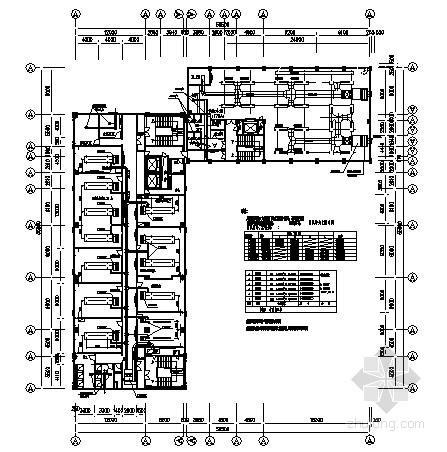 [德顺]某工商行政管理局办公大楼VRV变频空调施工图纸