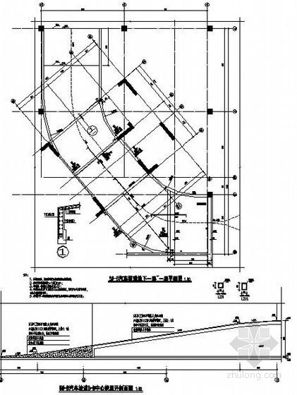 [广东]住宅汽车坡道节点构造详图