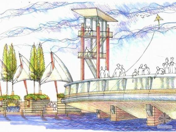 火车站前广场景观设计