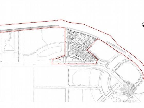 [抚顺]滨水法式风情居住区景观概念设计方案