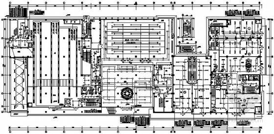 [沈阳]某大型商业与办公综合楼全套电气施工图纸