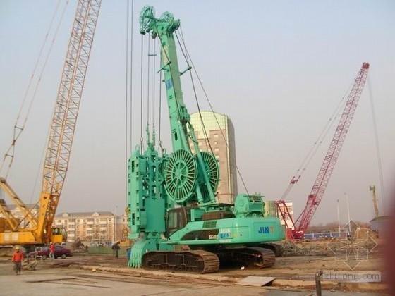 [上海]深基坑地下连续墙围护结构施工组织设计