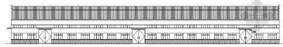 某单层砖木结构厂房建筑结构方案图