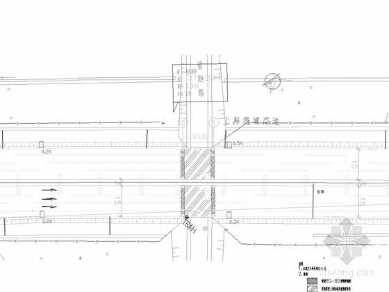 [上海]预应力混凝土板梁桥病害维修改造施工图(22张)