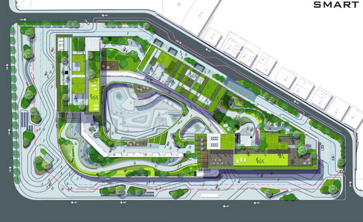 图纸张数:70张 设计时间:2015 景观设施:平台栈道汀步,座凳座椅,树池