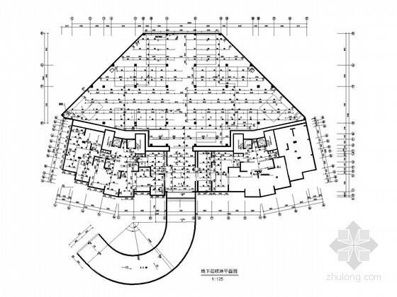 [江西]高层商住楼给排水及消防施工图设计