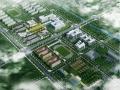 [北京]大学校园分区室外景观绿地设计方案