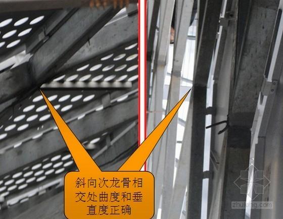 [QC成果]提高大面积曲面斜交穿孔铝板幕墙施工合格率