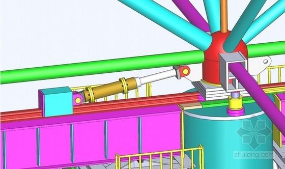 发电厂厂房屋面大跨度网架滑移施工方案(高低连跨整体网架)