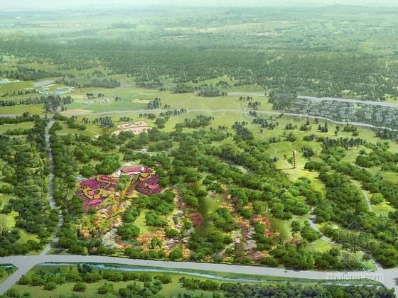 [鄂尔多斯]城市人文生态森林公园景观规划设计方案