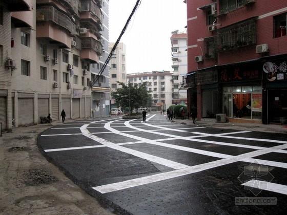 [湖南]市政道路提质改造工程实施性施工组织设计
