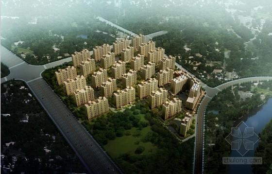 [上海]新古典主义风格简化型经济住宅建筑设计方案文本