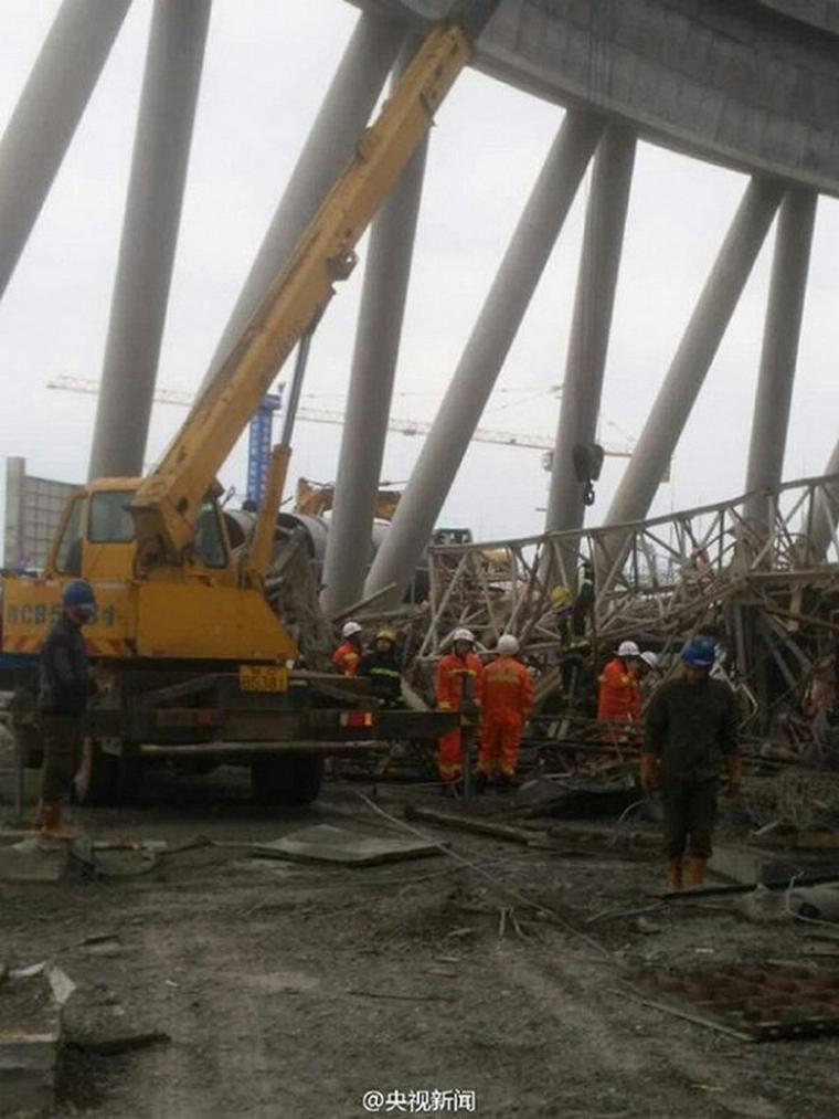 国安监总局局长率工作组赶赴丰城电厂倒塌事故现场开展救援工作!