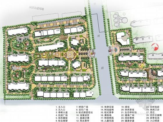 居住区景观方案设计