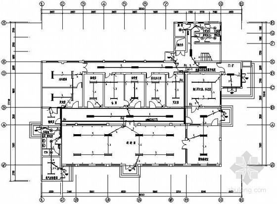 某医院透析室电气设计图