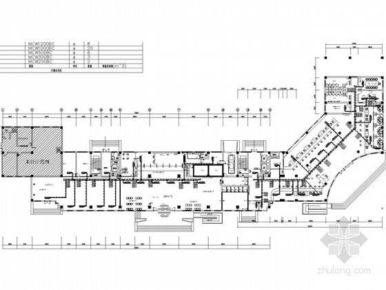 高层办公楼暖通空调系统设计施工图(风冷模块机组)