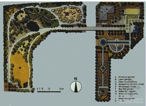 国外经典园林设计图