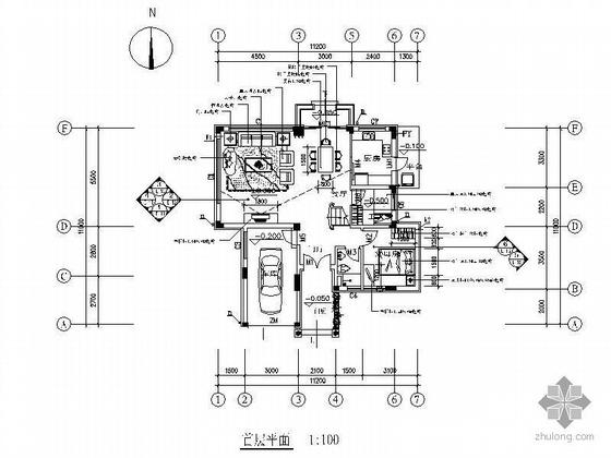 三层欧式风独栋别墅装修图