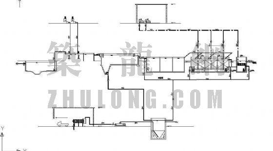 污水处理站管道施工图