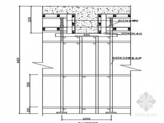 [四川]高层框支剪力墙结构商务综合楼模板工程施工方案(木胶合板 扣件钢管架)