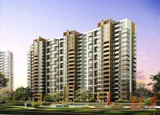 厦门33层超高层住宅楼(土建)工程造价指标(2012.10)