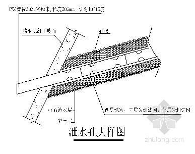 基坑支护施工组织设计(土钉墙 喷锚)