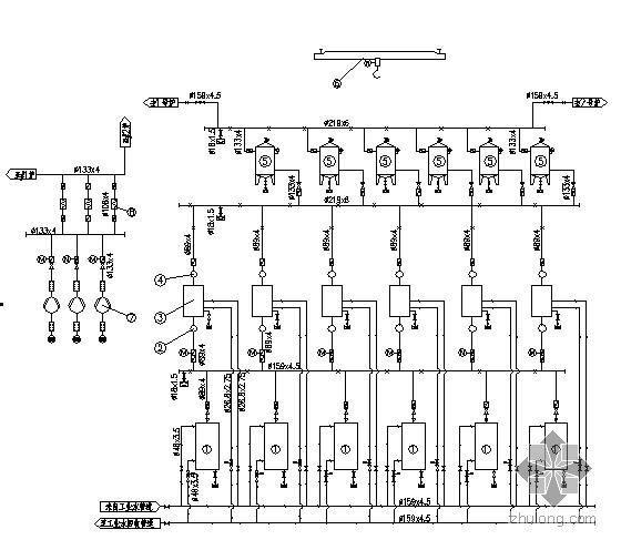 空压机房系统及布置图