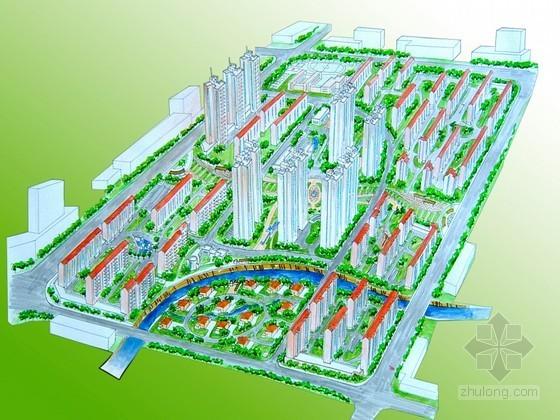 [凤阳]某小区规划设计(城市规划课程设计)