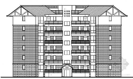 四川省御营山景7#楼建筑结构施工图