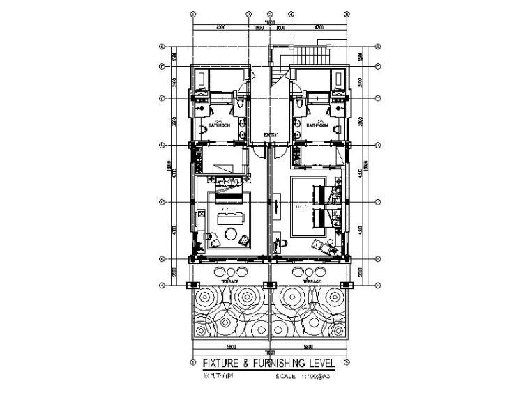 [三亚]豪华酒店高级别墅室内设计施工图
