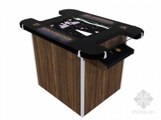 电子游戏机3D模型下载