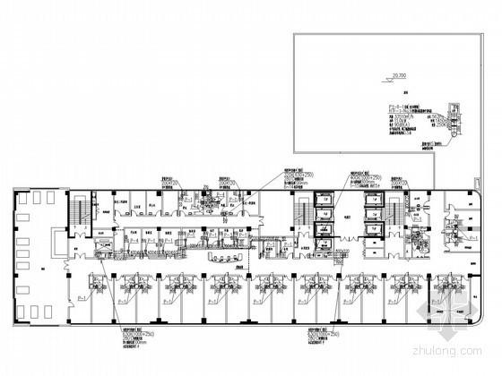 [安徽]医院办公楼通风空调及防排烟系统设计施工图(医用风机盘管)