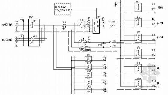 UPS应急电源系统图资料下载-UPS控制原理图